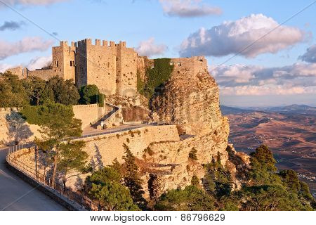 Venere Castle, Erice, Sicily