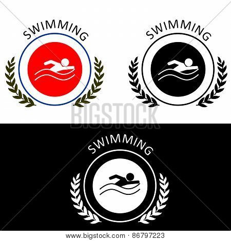 The  Swimming -logo