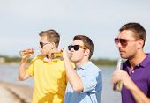 picture of bachelor party  - summer holidays - JPG