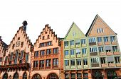 foto of frankfurt am main  - Isolated Eastern facade of the Romer  - JPG