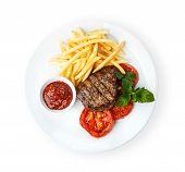 stock photo of dainty  - Restaurant food  - JPG