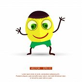 picture of animated cartoon  - Vector - JPG