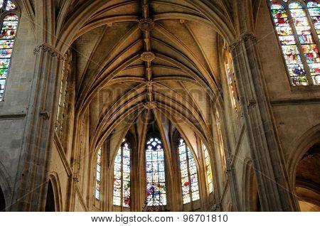 Saint Sulpice Church Of Nogent Le Roi In Eure Et Loir