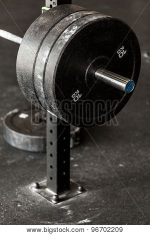 Heavy Barbell Weight