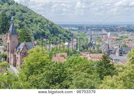 Heidelberg view, Germany
