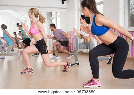 Sports Activities In Fitness Club