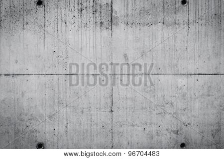 Concrete Wall Background Of A Building