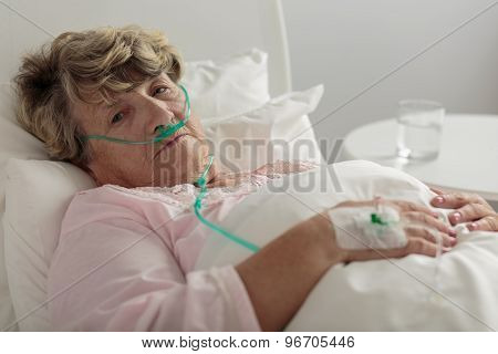 Woman With Serious Disorder
