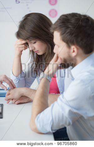 Woeful Marriage Suffering From Infertility