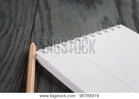 closeup photo of open notepad with word recipe