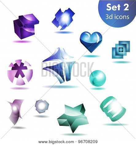 icon set   for wesite, info graphic