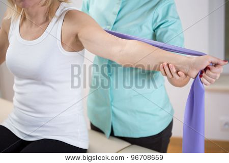 Exercising With Band