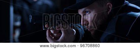 Policeman Found A Bandit