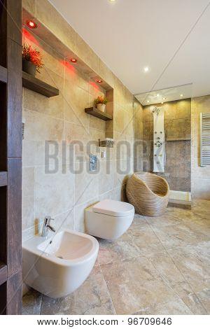 Beauty Toilet Interior