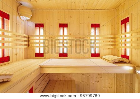 Private Sauna In Luxury Apartment