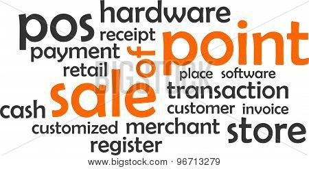 word cloud - point of sale