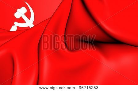 South Asian Communist Banner