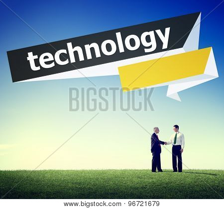 Technology Digital Modern Communication Concept