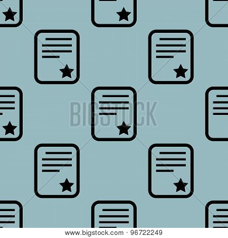 Pale blue best document pattern