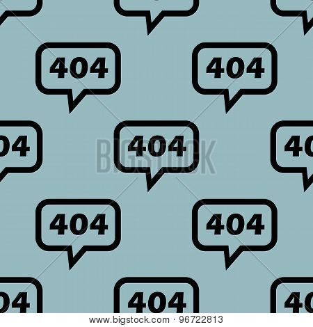 Pale blue 404 message pattern