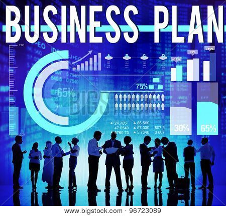 Business Plan Mission Strategy Vision Tactics Concept