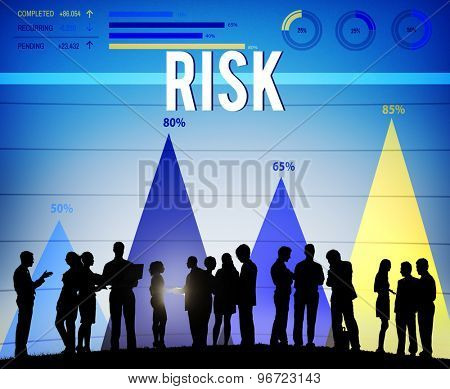 Risk Chance Danger Hazard Safety Security Concept