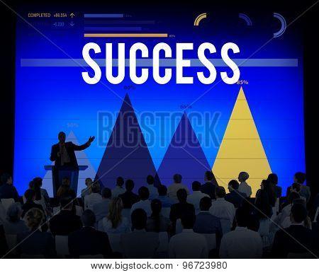 Success Successful Achievement Goal Victory Concept