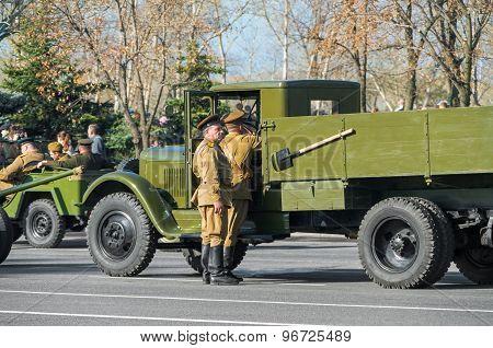 Preparation For Parade