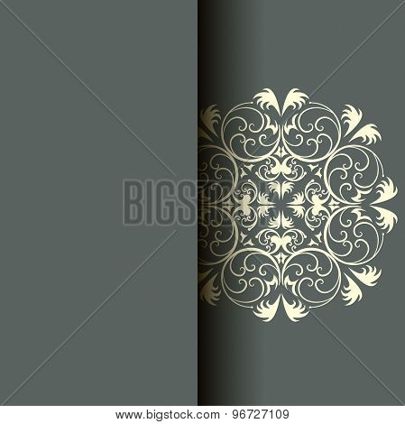 Abstract Greeting Card, Background With Flowers And Decorative Leaves. For Gifts, Decoration And Inv