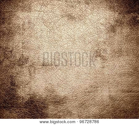 Grunge background of desert sand leather texture