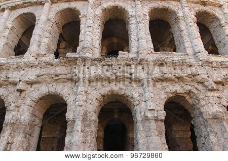Theatre of Marcellus, Rome Italy.