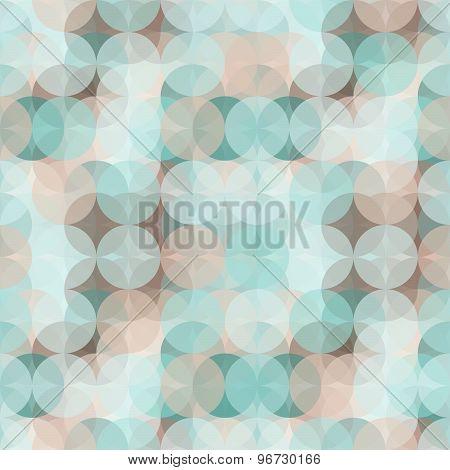Colorful Circle Seamless Pattern