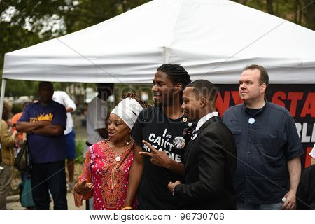 NY council member Jumaane Williams