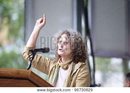 Donna Lieberman of the NYCLU