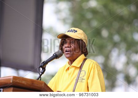 Hazel Dukes of the NAACP