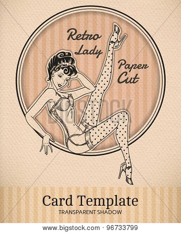Pin-Up Card