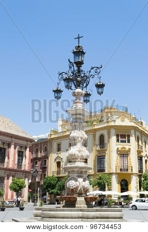 Lamp Post Fountain
