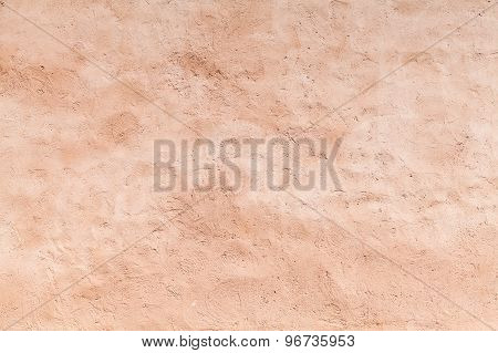 Empty Concrete Wall With Plaster Layer, Background