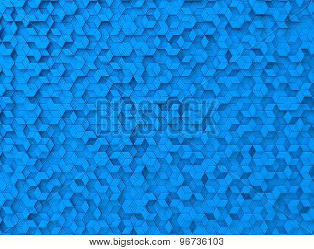 Random Elevated Geometric Shapes Background
