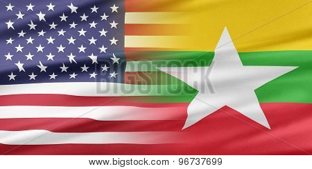 USA and Burma.