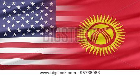 USA and Kyrgyzstan.