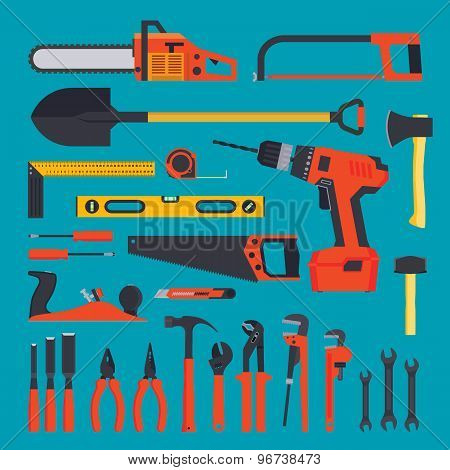 Hardware tools set