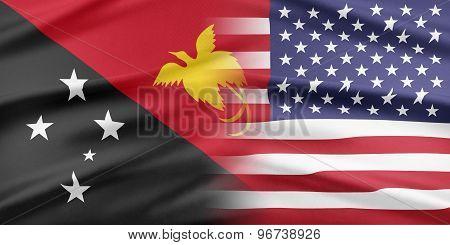 USA and Papua New Guinea.