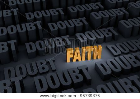 Faith Against Overwhelming Doubt