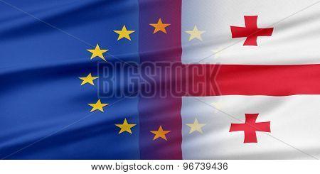 European Union and Georgia.