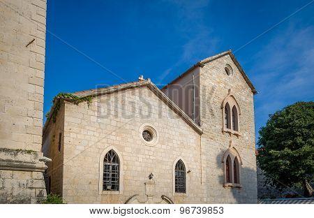 Ancient round church in Budva
