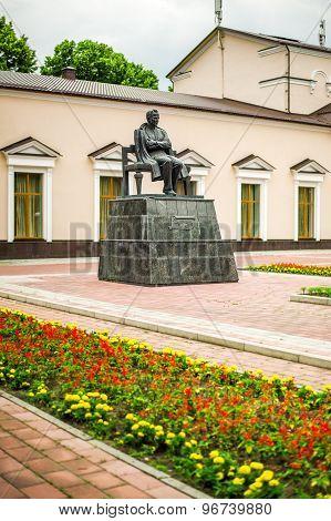 Monument of Shogentsukov Ali Askhadovich in Nalchik