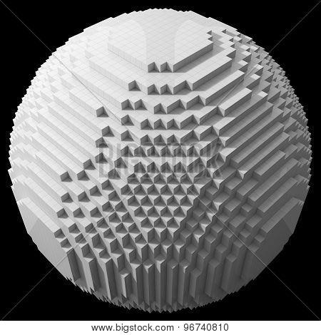 Huge Blocks Sphere
