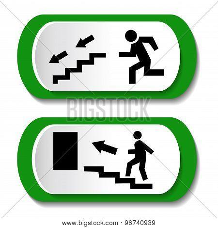 man ladder icon