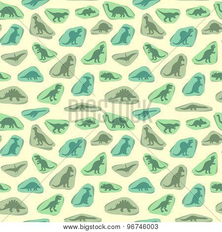 silhouettes of dinosaur,animal